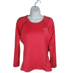 Avia Sports Activewear Running Top, Red, M